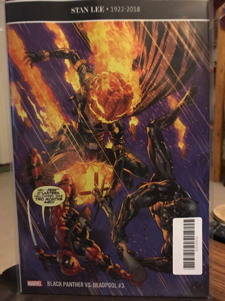 Black Panther Vs. Deadpool Comic Book (3) front image (front cover)