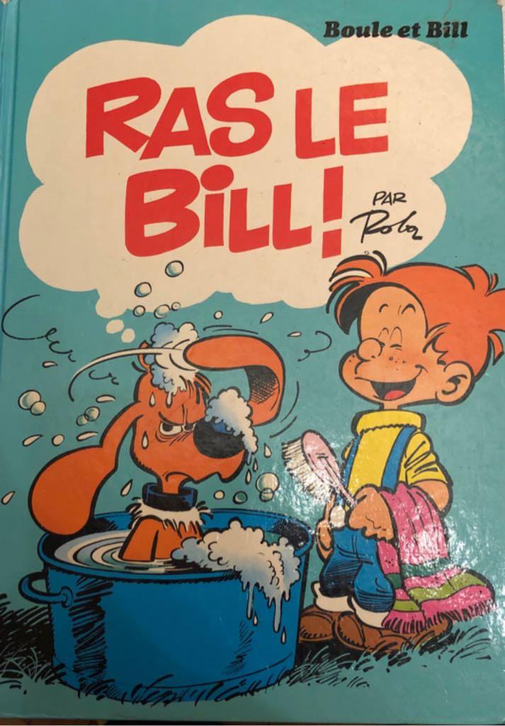 Boule et Bill - Ras le Bill Comic Book - Dupuis (14) front image (front cover)