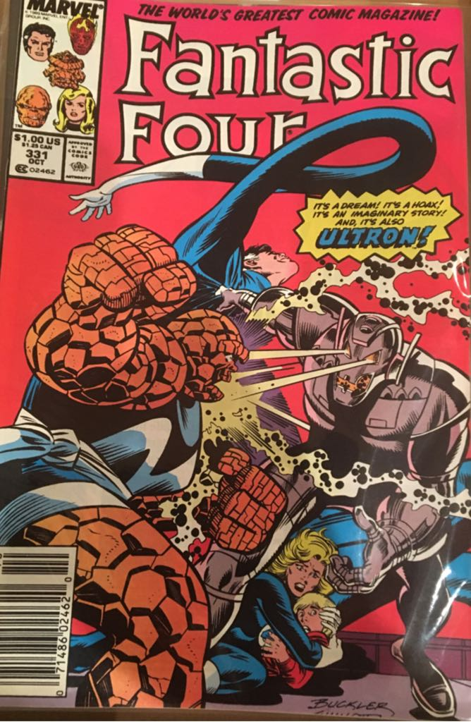 Fantastic Four 331 Comic Book (331) front image (front cover)