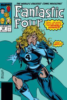 Fantastic Four 332 Comic Book (332) front image (front cover)