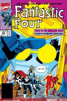 Fantastic Four 340 Comic Book (340) front image (front cover)