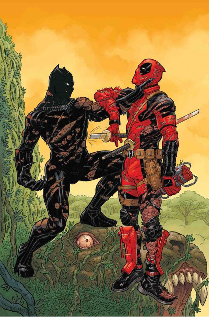 Black Panther Vs. Deadpool Comic Book (2) front image (front cover)