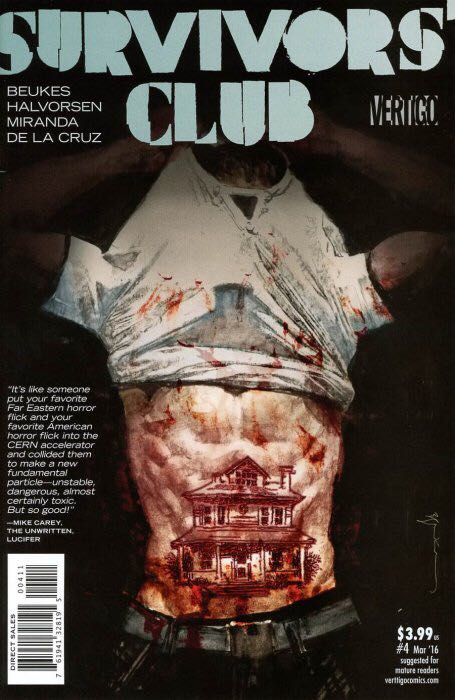 Survivors' Club Comic Book (3) front image (front cover)