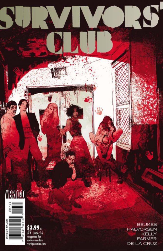 Survivors' Club Comic Book (7) front image (front cover)
