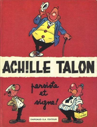 Achille Talon T3 : Persiste Et Signe! Comic Book (3) back image (back cover, second image)