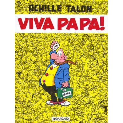 Achille Talon T20 : Viva Papa Comic Book (20) front image (front cover)