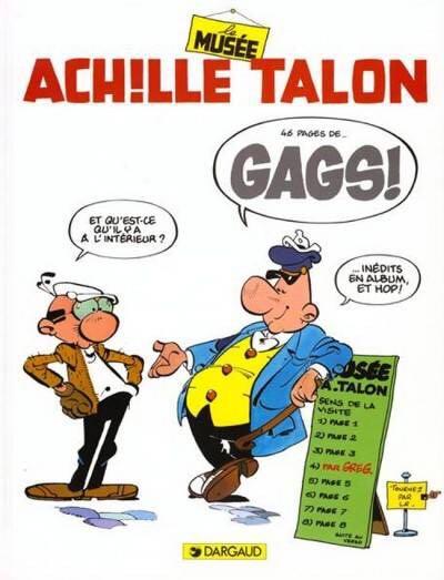 Achille Tallin T42 : Le musée De Gags Comic Book (42) front image (front cover)