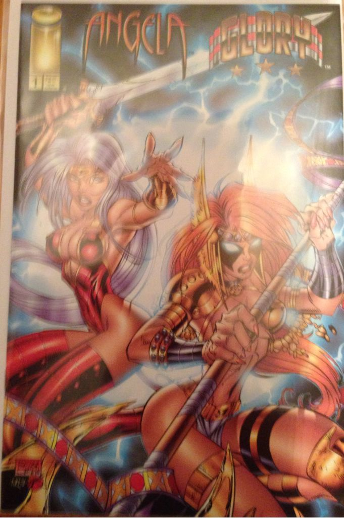 angela glory comic book 1 from sort it apps