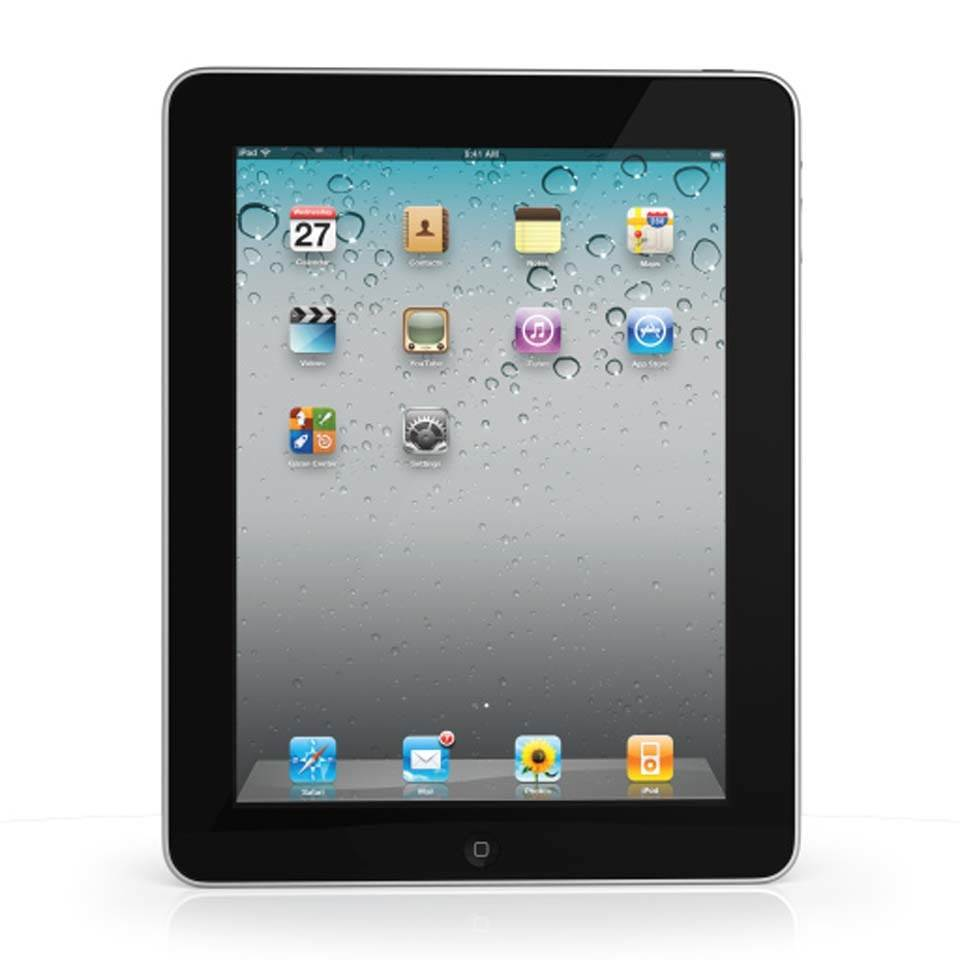 MB292LL/A Apple Refurbished MB292LLA 16G iPad with WF/BT 9.7 LED Back Currency front image (front cover)