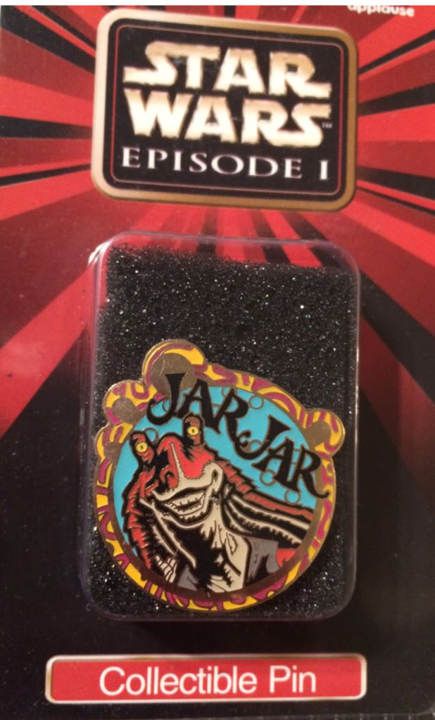 Star Wars Episode I Collectors Pin 5 Of 12 Disneypin front image (front cover)