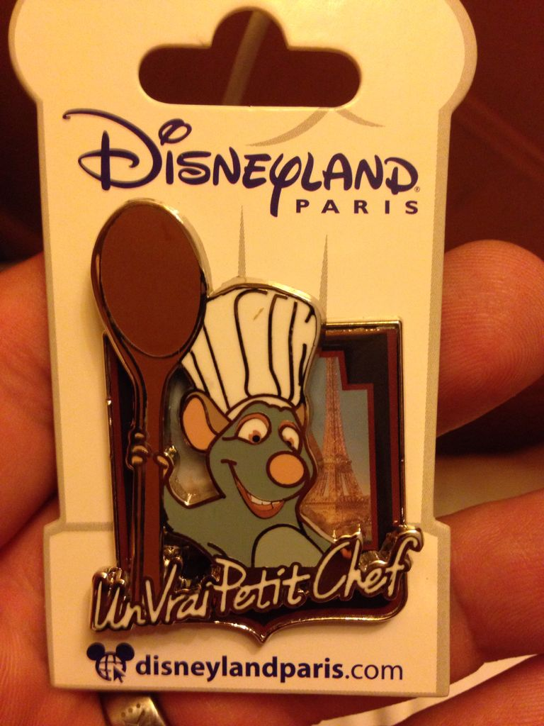 Un Vrai Petit Chef Disneypin front image (front cover)