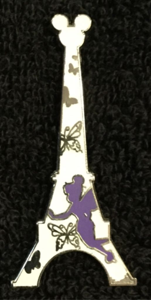 Eiffel Tower Collection Disneypin (04/05/2014) front image (front cover)