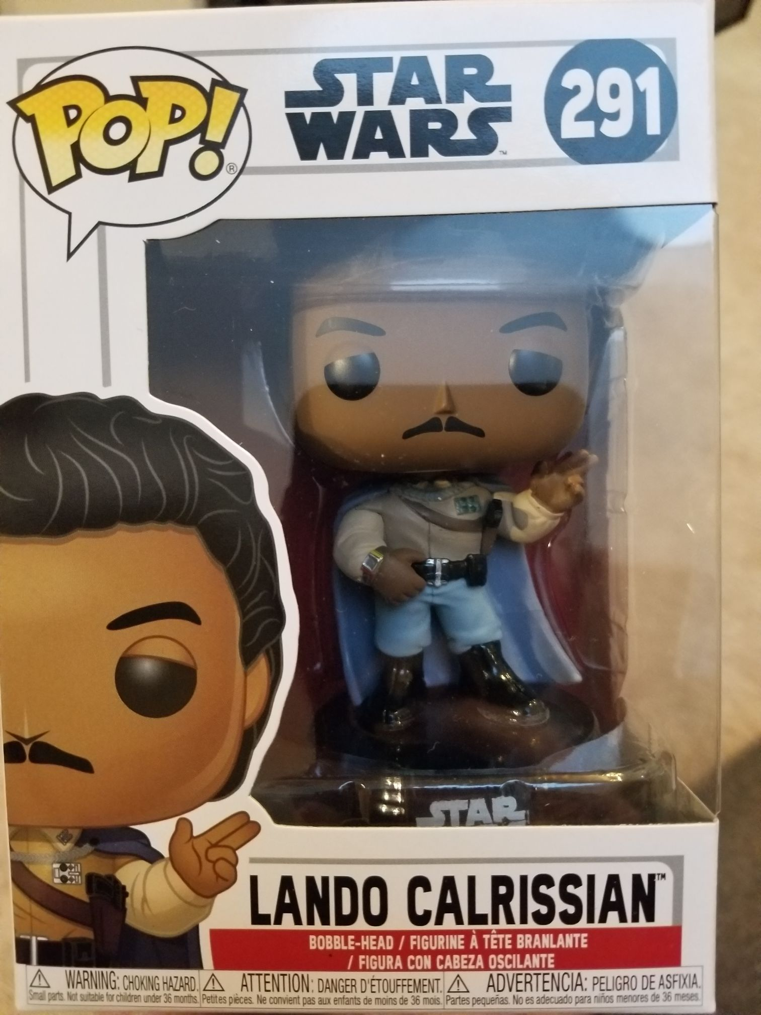 Lando Calrissian (General) Funko - POP! Star Wars (291) front image (front cover)
