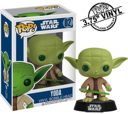 Yoda Funko - POP! Star Wars (02) back image (back cover, second image)