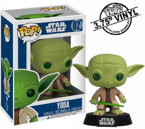 Yoda Funko - POP! Star Wars (02) front image (front cover)