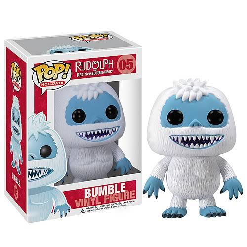 Bumble Funko - POP! Holiday (05) back image (back cover, second image)