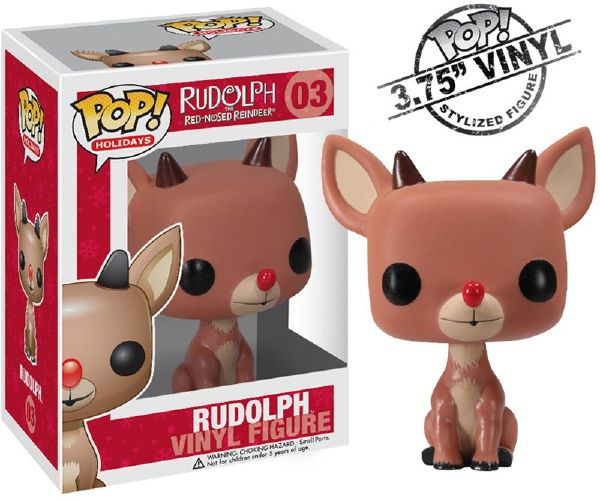 Rudolph Funko - POP! Holiday (03) front image (front cover)