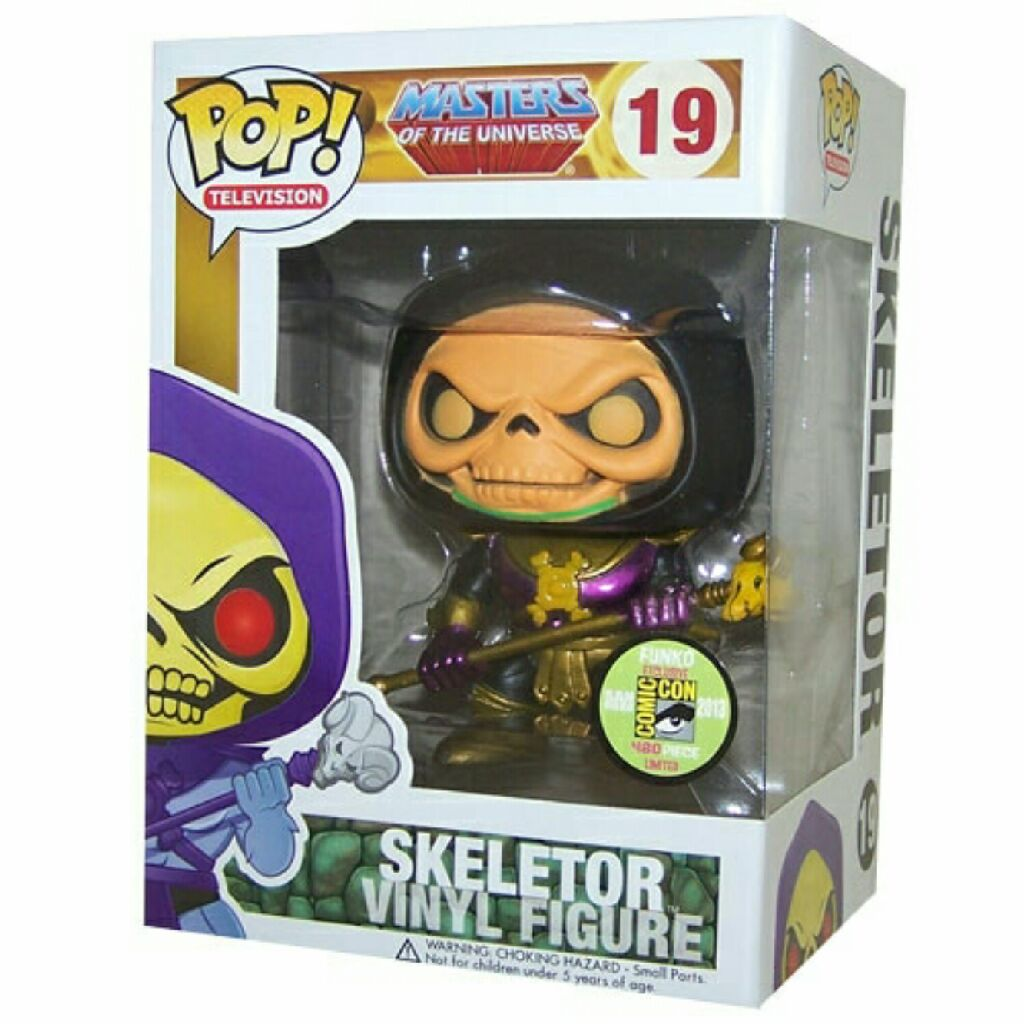 Skeletor Funko - POP! Television (19) back image (back cover, second image)