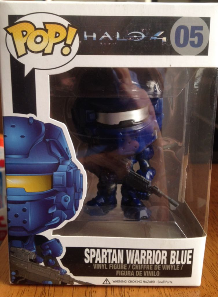 Spartan Warrior Red Funko - POP! Halo (04) back image (back cover, second image)