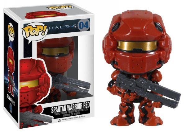 Spartan Warrior Red Funko - POP! Halo (04) front image (front cover)