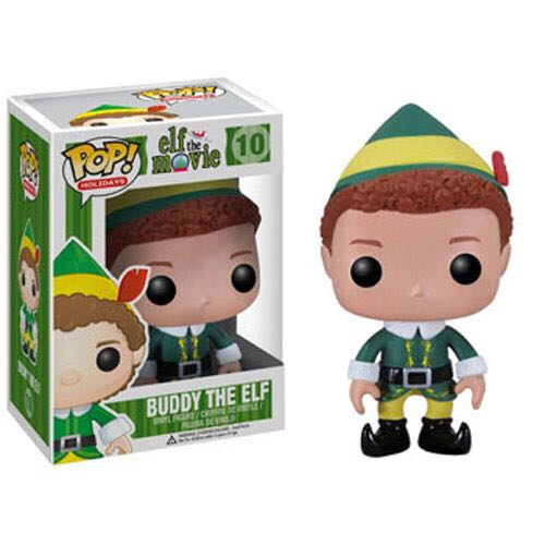 Buddy the Elf Funko - POP! Holiday (10) back image (back cover, second image)