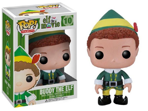 Buddy the Elf Funko - POP! Holiday (10) front image (front cover)