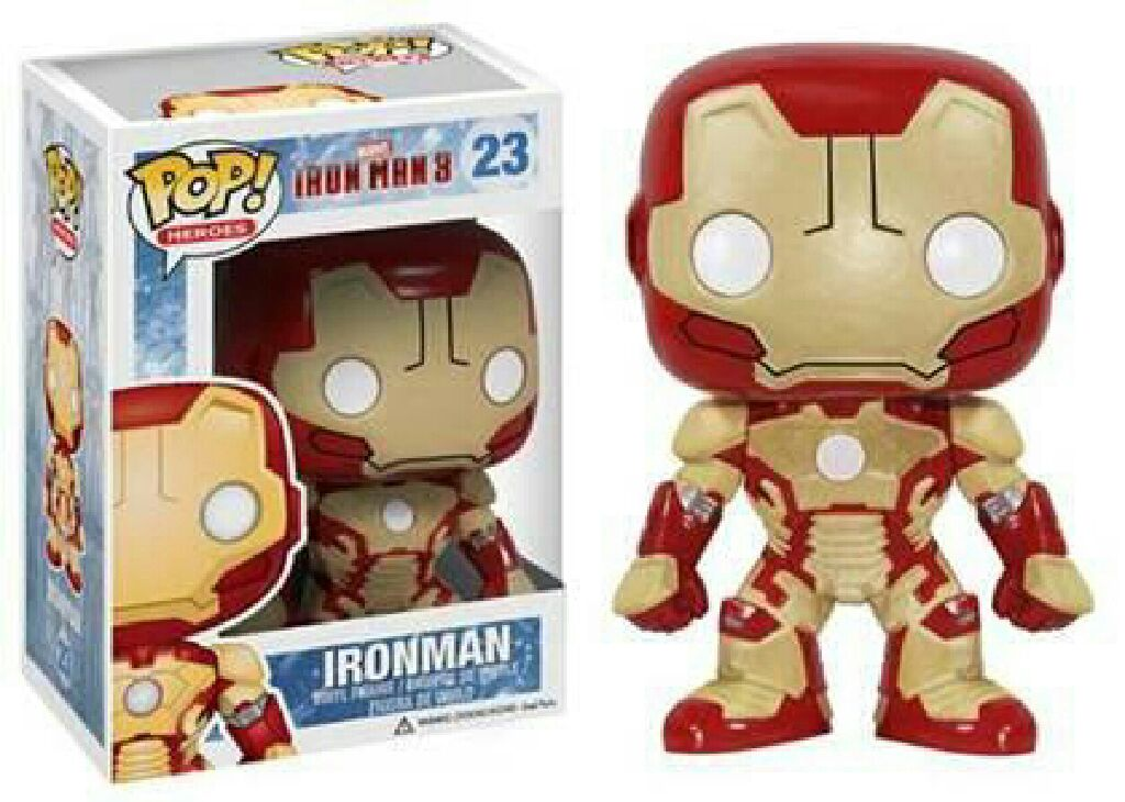 Iron Man Funko - POP! Marvel (23) back image (back cover, second image)