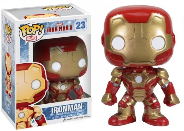 Iron Man Funko - POP! Marvel (23) front image (front cover)