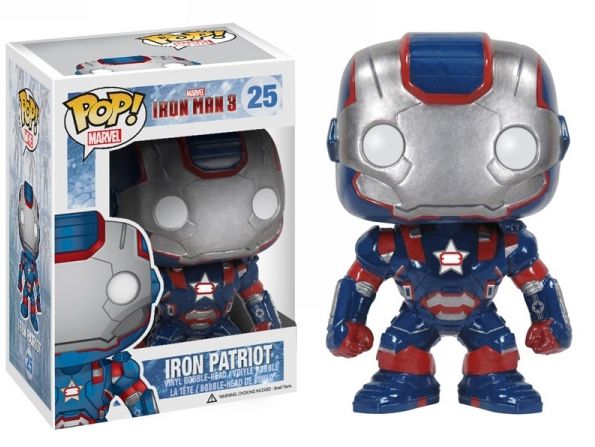 Iron Patriot Funko - POP! Marvel (25) front image (front cover)