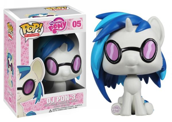 DJ Pon-3 Funko - POP! My Little Pony (05) front image (front cover)