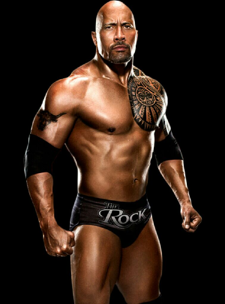The Rock Funko - POP! WWE (03) back image (back cover, second image)