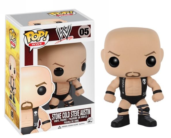 Stone Cold Steve Austin Funko - POP! WWE (05) front image (front cover)