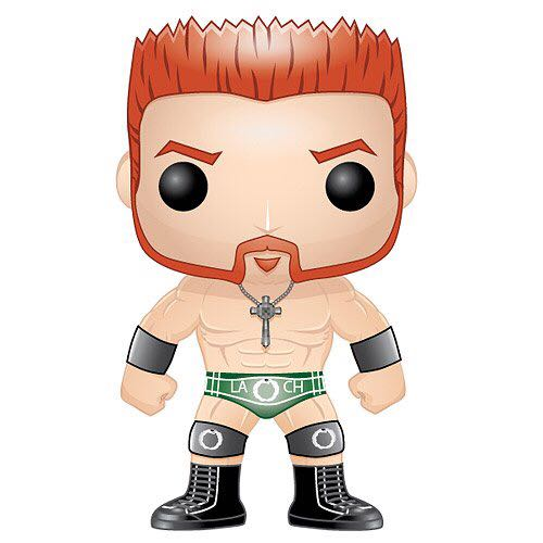 Sheamus Funko - POP! WWE (04) back image (back cover, second image)