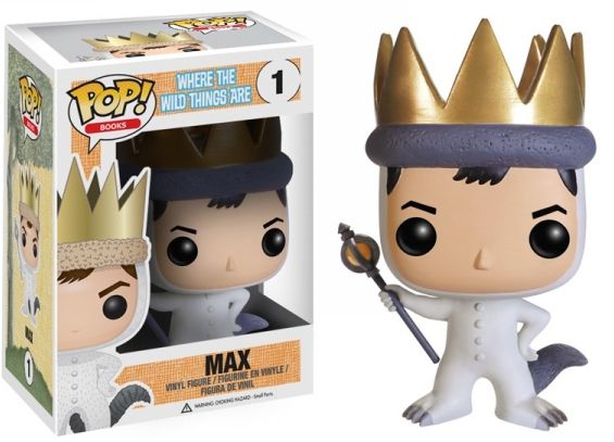 Max Funko - POP! Books (1) front image (front cover)