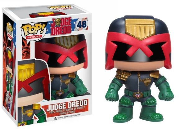 Judge Dredd Funko - POP! Heroes (48) front image (front cover)