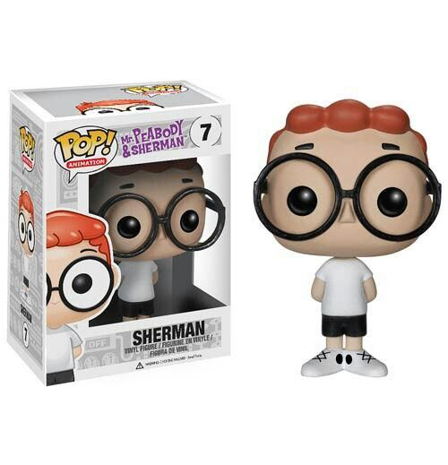 Sherman Funko - POP! Animation (07) back image (back cover, second image)