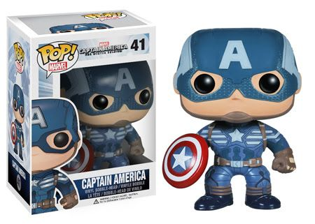 Captain America Funko - POP! Marvel (41) front image (front cover)