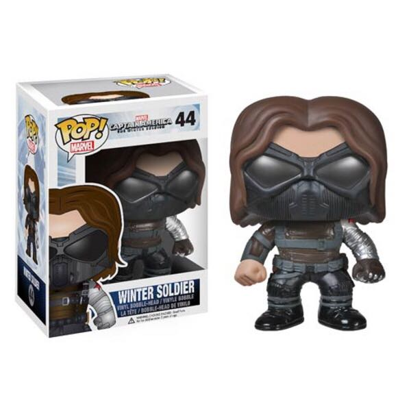 Winter Soldier Funko - POP! Marvel (44) back image (back cover, second image)