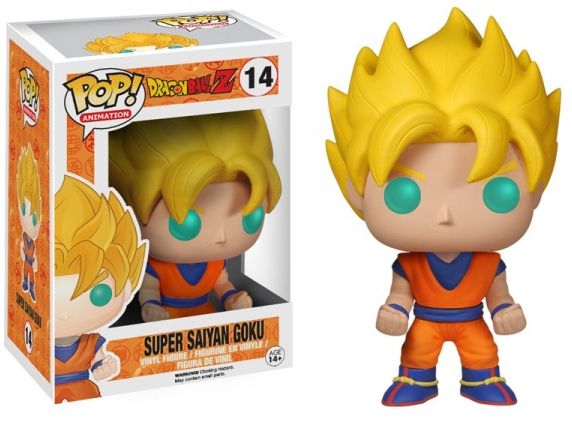 Super Saiyan Goku Funko - POP! Animation (14) front image (front cover)