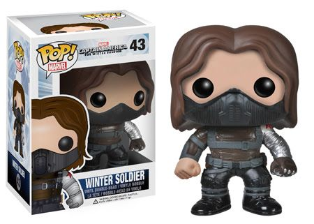 Winter Soldier Funko - Pop! Marvel (44) front image (front cover)