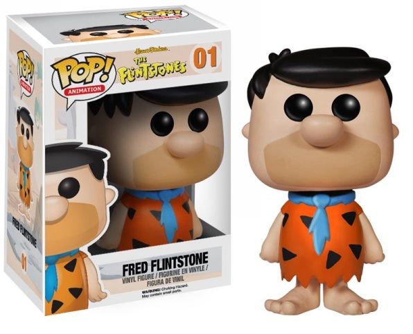 Fred Flinstone Funko - POP! Animation (01) front image (front cover)