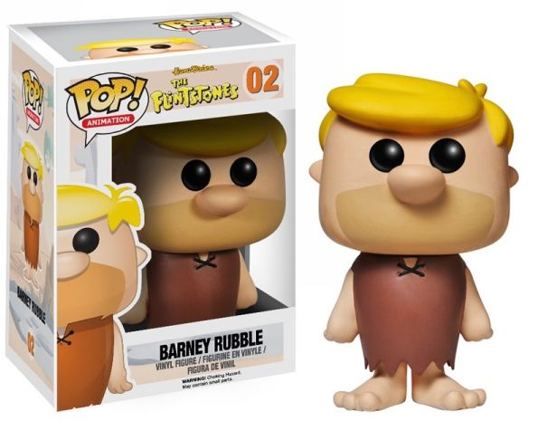 Barney Rubble Funko - POP! Animation (02) front image (front cover)