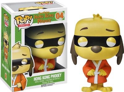 Hong Kong Phooey Funko - POP! Animation (04) back image (back cover, second image)