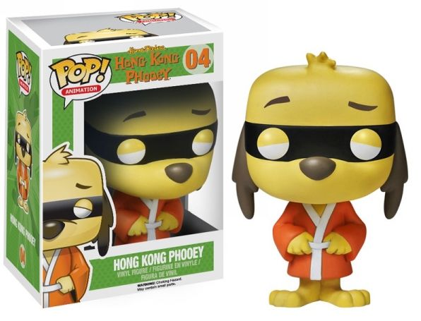 Hong Kong Phooey Funko - POP! Animation (04) front image (front cover)