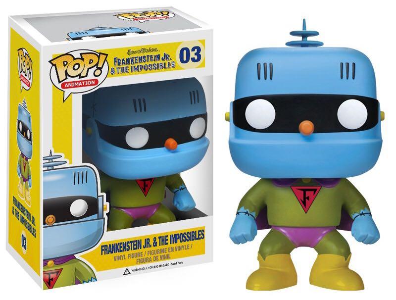 Frankenstein Jr. & The Impossibles Funko - POP! Animation (03) back image (back cover, second image)