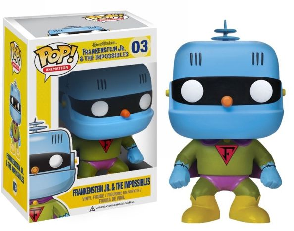 Frankenstein Jr. & The Impossibles Funko - POP! Animation (03) front image (front cover)