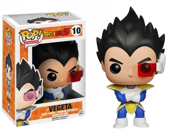 Vegeta Funko - POP! Animation (10) front image (front cover)