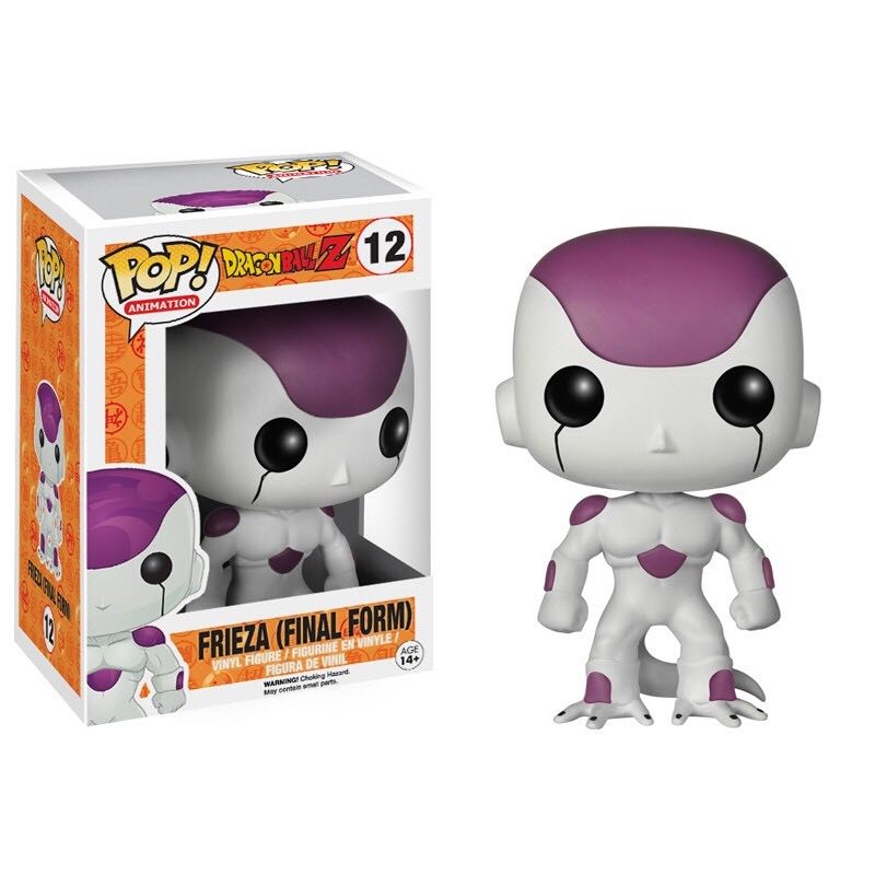 Frieza (Final Form) Funko - POP! Animation (12) back image (back cover, second image)
