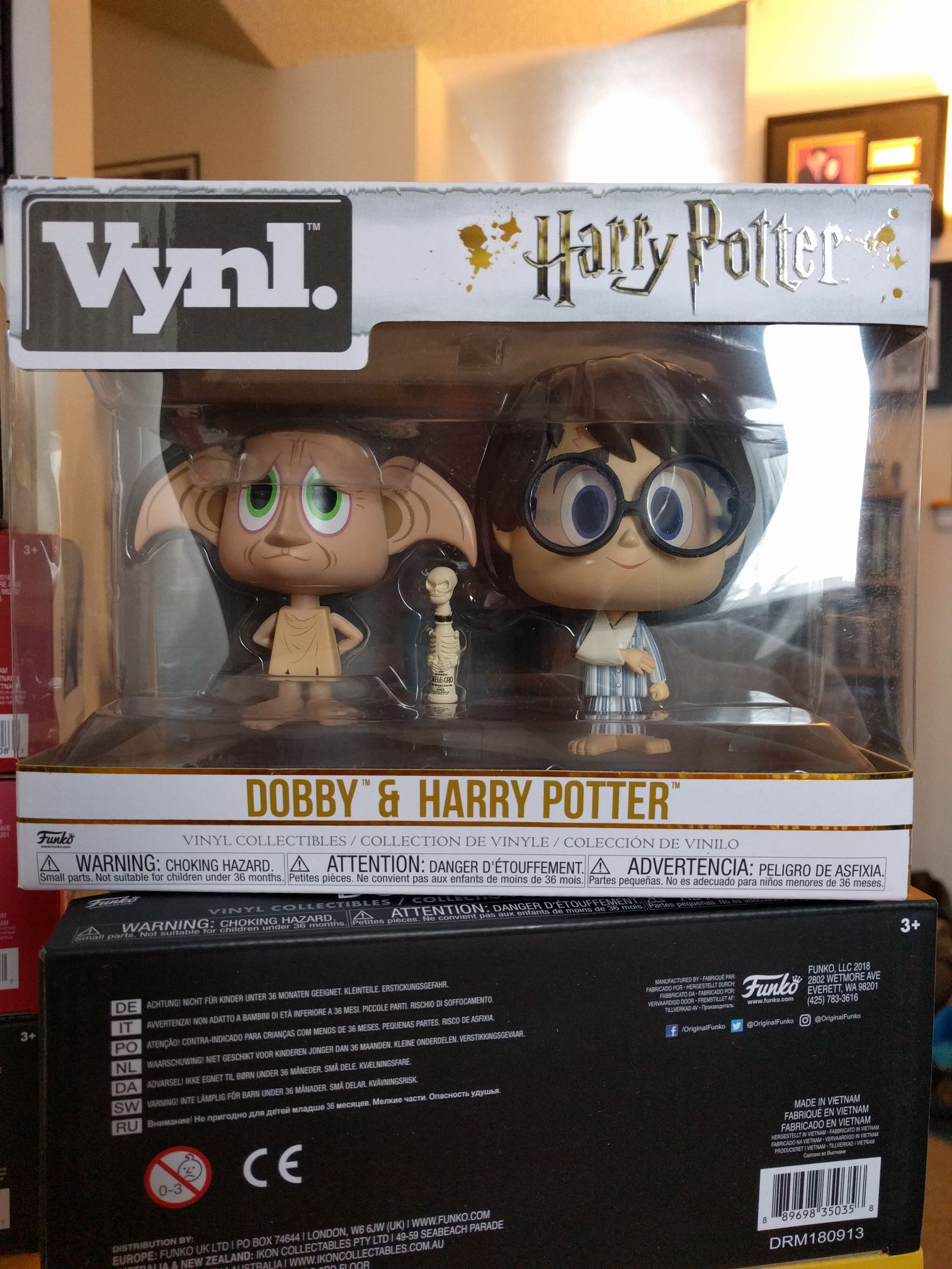 Dobby & Harry Potter Funko - Vynl front image (front cover)