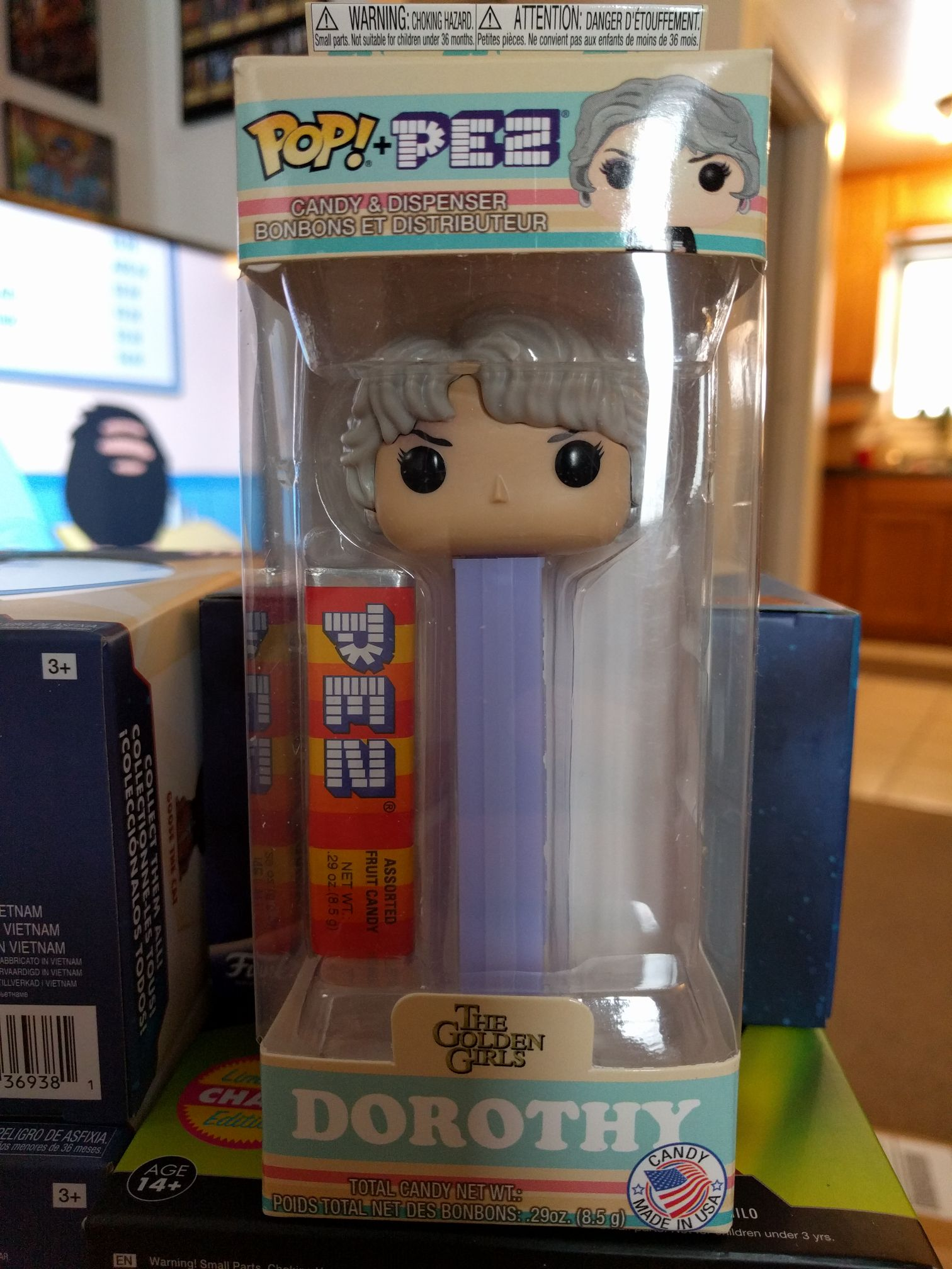 Dorothy Funko - Pop! PEZ front image (front cover)
